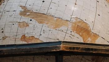 Dienas apskats. LU uzsākta zvaigžņu globusa restaurācija