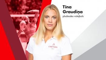 Olimpieša vizītkarte: Tīna Graudiņa