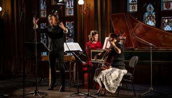 """Senās mūzikas festivāla atklāšanas koncerts """"Venēcijas baroka meistardarbi"""" Mazajā ģildē"""