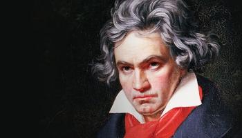 L. van Bēthovena 1. un 2. vijoļsonāti atskaņo Uldis Viesturs Sprūdžs un Inta Villeruša