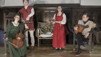 Nenopietna mūzika no renesanses laika Anglijas Bauskas pilī