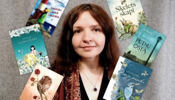 Zelta poga sabiedrībā rakstniece, ilustratore un tulkotāja Lilija Berzinska