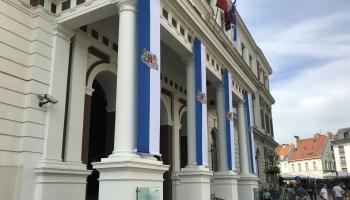 """Aktualitātes: Rīgas domes koalīcija dala amatus, """"Pasažieru vilciena"""" jaunais nosaukums"""