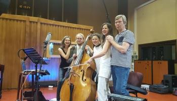 "Noslēgusies Latvijas Radio rezidences trio ""Art-i-Shock"" debijas albuma ierakstu sesija!"