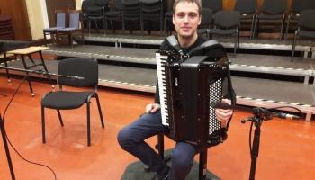 Artūrs Noviks un Jāņa Mediņa Sonāte akordeonam