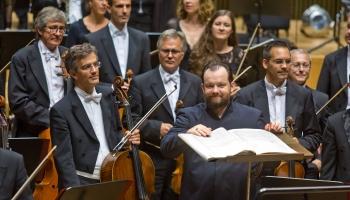 """Andris Nelsons un Leipcigas """"Gewandhaus"""" orķestris Vīnes """"Musikverein"""" zālē"""