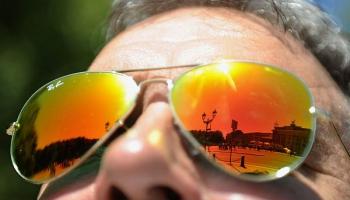 Saules brilles un pozitīvisma kampaņa.