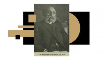 Vai zini, kas bija Ludvigs Vilhelms Kerkoviuss un kas viņu saista ar LNMM?