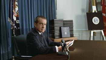 23. marts. Intervijas ar bijušo ASV prezidentu Ričardu Niksonu