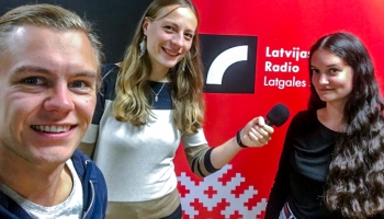 Pīci Breinumi & Sarmīte Gaidule - jauna žurnāliste no Latgales
