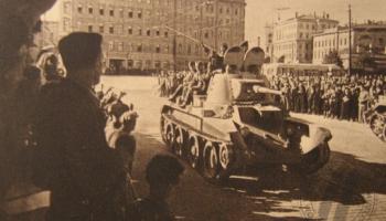 1940. gads. Radiofons kļūst par padomju ideoloģijas un propagandas ruporu