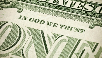 """In God We Trust"" jubileja"