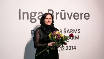 Inga Brūvere. Māksla kā pirmās nepieciešamības lieta