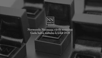 Normunda Naumaņa vārdā nosaukto Gada balvu mākslas kritikā gaidot