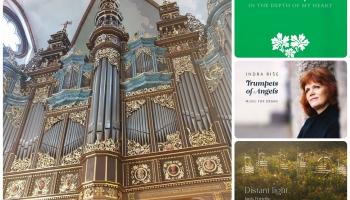 Pirmatskaņojumi Rīgas Domā un jauni ērģeļmūzikas albumi