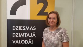 """""""100-gades dziesmu krātuvē"""" viesojās LTV žurnāliste Odita Krenberga!"""