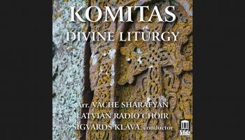 """Komitasa """"Divine Liturgy"""". Vačes Šarafjana aranžējums jauktajam korim"""