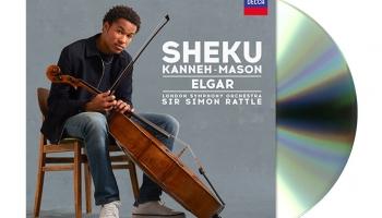 Čellists Šeiku Kanehs-Meisons, Londonas simfoniskais orķestris un diriģents Saimons Retls