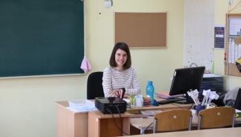 Илона Ананько-Бартуле: вернулась в родную школу уже в статусе учителя