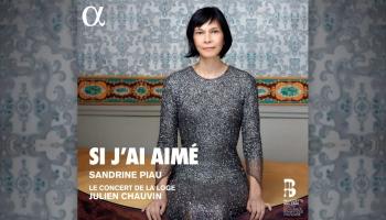"""Soprāns Sandrīne Pio franču mūzikas albumā """"Si J'ai Aim"""""""