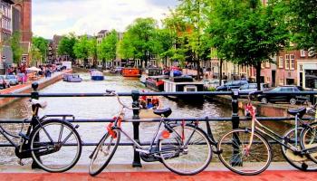 Uz riteņiem Amsterdamā!