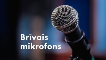 Brīvais mikrofons. 21. oktobris