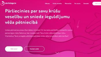Latvijā īsteno unikālu epidemioloģisku pētījumu par krūts vēža riskiem