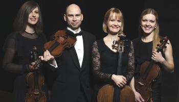 Latvijas Radio I studijā muzicē Spīķeru kvartets un pianists Rūdolfs Vanks