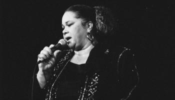 Amerikāņu dziedātāja Etta Džeimsa. Viņas aicinājums bija blūzs