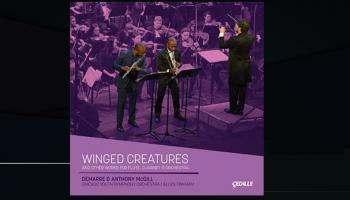 "Kamila Sensānsa Tarantella un albums ""Winged Creatures"""