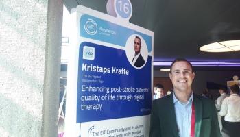Uzņēmējs no Latvijas rada un izmēģina lietotni insulta pacientu rehabilitācijai