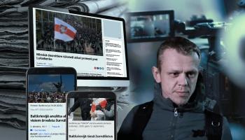 Cilvēks ziņu virsrakstos: baltkrievu fotogrāfs Vlads Hridzins