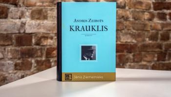 """Andra Zeibota romāns """"Krauklis"""" par dzejnieku Jāni Ziemeļnieku iesāk projektu """"Es esmu"""""""