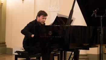 """Par savu solokoncertu Latgales vēstniecībā """"Gors"""" stāsta Rihards Plešanovs"""