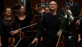"""Florians Donderers un """"Sinfonietta Rīga"""" Rudens kamermūzikas festivāla noslēguma koncertā"""