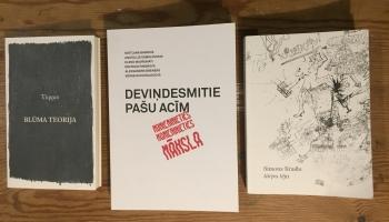 Avangarda literatūra ar Didzi Kalniņu