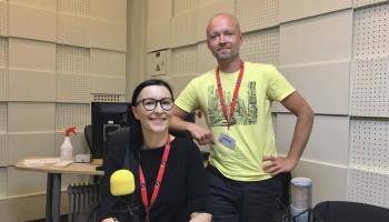A cappella festivālam Valmierā gatavi! Studijā - Laura Jēkabsone un Jānis Strazdiņš