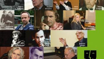 2017. gada jaundarbs - stāsti par 10 Radioteātra režisoriem un arī par skaņu režisoriem
