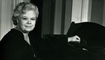 Пианистка Инта Виллеруша