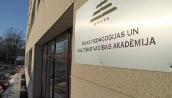 Dienu pirms rīkojuma projekta valdībā IZM informē par RPIVA likvidāciju