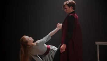 """Ances Kukules izrāde """"Klitaimnestra"""" un Nacionālā teātra izrāde """"Par tēviem"""""""