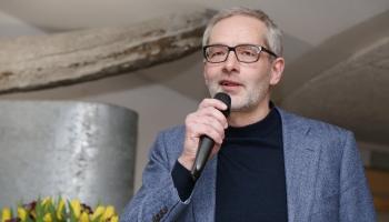 """""""100-gades dziesmu krātuvē"""" viesojās žurnālists Jānis Domburs!"""