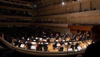 Lucernas festivāla orķestris un maestro Rikardo Šaijī Lucernas festivāla atklāšanā