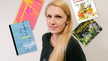 Zelta Pogas sabiedrībā rakstniece, vairāku bērnu grāmatu autore Laura Vinogradova