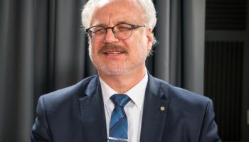 Krustpunktā - studijā jaunievēlētais Latvijas Valsts prezidents Egils Levits