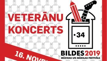 """Mūzikas festivāla """"Bildes 2019""""  veterānu koncerts"""