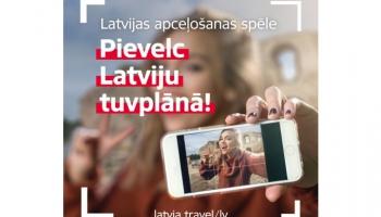 LIAA aicina apceļot Latviju ar jaunu spēli