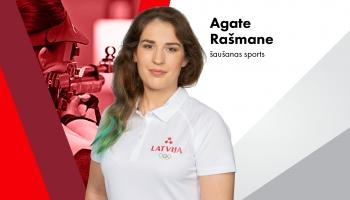 Olimpieša vizītkarte: Agate Rašmane