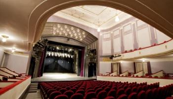 Liepājas teātris, JRT ēka, akustiskā koncertāle, latviešu seriāli. Atbild Zane Brikmane