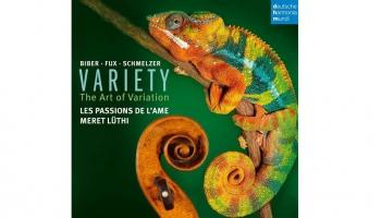 """""""Les Passions de l`Ame"""" un Mereta Litī albumā """"Variety"""" (""""Variāciju māksla"""", 2019)"""